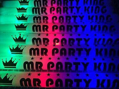 "100 PCS Light Up Foam Sticks LED Wands Batons DJ Flashing Glow 18"""