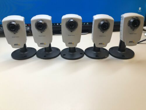 AXIS Communications 207 IP Wireless Network Camera P/N 0235-001-01 (LOT OF 5)