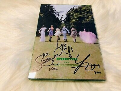 STAYC - ALL MEMBER Autograph(Signed) PROMO ALBUM KPOP #14