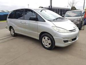 2005 Toyota Tarago Gli 8 SEATER AUTO PEOPLE MOVER Williamstown North Hobsons Bay Area Preview