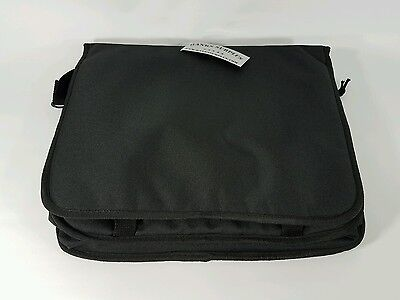 "Men's Military Canvas Satchel School 15"" Laptop Shoulder Messenger Bag"