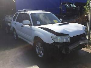 Subaru Wrecking Forester XT 2006 EJ25 Turbo Manual 5 Speed Revesby Bankstown Area Preview