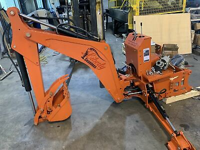 Lb7 Backhoe Attachment Subframe Ready Optional Mechanical Or Hydraulic Thumb