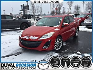 2010 Mazda Mazda3 GT + NAVIGATION + CUIR + TOIT OUVRANT