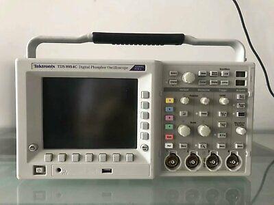 Tektronix Tds3054c Digital Phosphor Oscilloscope 4 Channels 500mhz