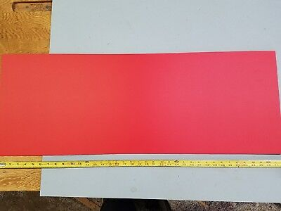 Sintra 18 X 14 X 33 Red Plastic Sign Board Peel And Stick Adhesive