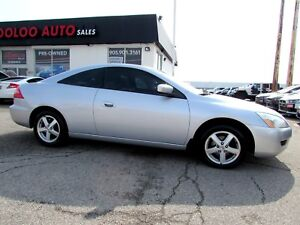 2005 Honda Accord Coupe EX-L Coupe with Leather Sunroof Certifie