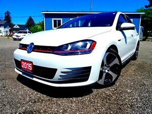 2015 Volkswagen GTI S 6M 4-Door ROOF,SAFETY INCLUDED