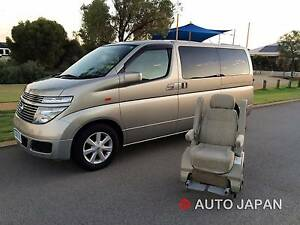 WHEEL CHAIR EQUIPPED 7 Seater - LUXURY ELGRAND