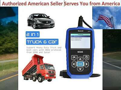 DIAGNOSTIC SCANNER TOOL ENGINE CODE READER for UNIVERSAL HEAVY DUTY DIESEL TRUCK