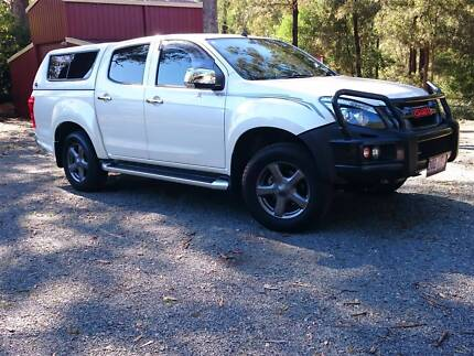 2014 Isuzu D-Max X-Runner Ute. Auto 4 years factory warranty plus Canungra Ipswich South Preview