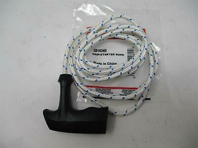 Briggs & Stratton Grip Recoil Pull Start Handle with # 6 Starter Rope Cord 6' -