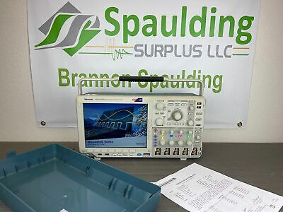 Tektronix Mso4104b 1 Ghz 4 Channel 5 Gss Mixed Signal Oscilloscope Calibrated