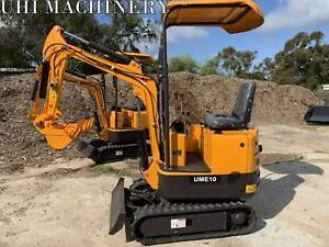 UHI MACHINERY UME10 950KG MINI EXCAVATOR STOCK IN SYDNEY BRISBANE Ingleside Warringah Area Preview