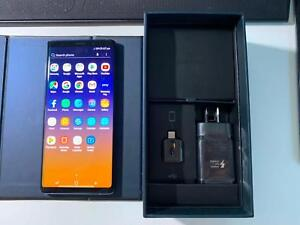 Brand New condition Samsung NOTE 9  BLUE  128GB with Box