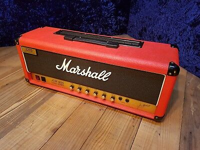 1995 Marshall JCM800 2203 LE Limited Edition Red Guitar Amplifier Head, used for sale  Shipping to Canada