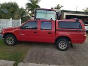 Cheap 4x4 Holden rodeo dual cab with canopy and roof racks Currimundi Caloundra Area Preview