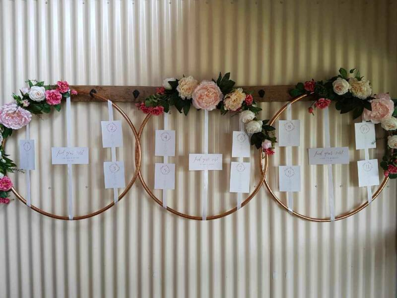 Rose gold wedding decoration hoops or find a seat sign gumtree does not support puppy mills rose gold wedding decoration junglespirit Image collections