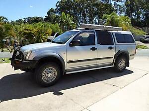 2004 Holden Rodeo Ute 4x4 turbo diesel Maroochydore Maroochydore Area Preview