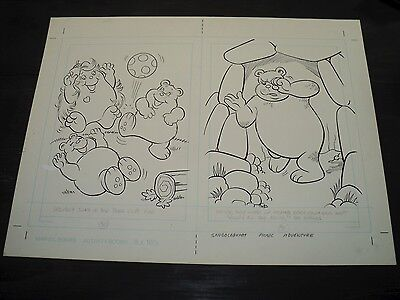 Snugglebumm Coloring Book Original Artwork RARE! Stan Goldberg! ART#0567