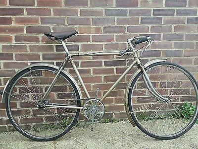 Racing Bike,Road Bike,Raleigh Silver Speed Bicycle 1939
