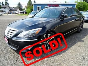 2013 Hyundai Genesis R-SPEC /NAVI/LEATHER/ONE OWNER/ROOF/CERTIFI