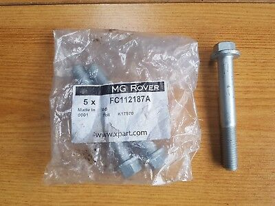 GENUINE MG ROVER 75 MG ZT REAR SUSPENSION ARM BOLT FC112187A. OEM