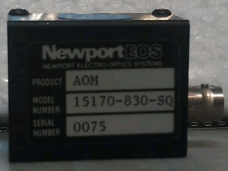 Newport EOS Electro-Optics Systems 15170-830-SQ