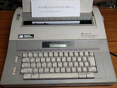 Smith Corona Xd 4900 Word Processing Typewriter