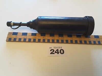 VINTAGE PLASTIC BODIED PUMP ACTION GREASE GUN # 240 N O S