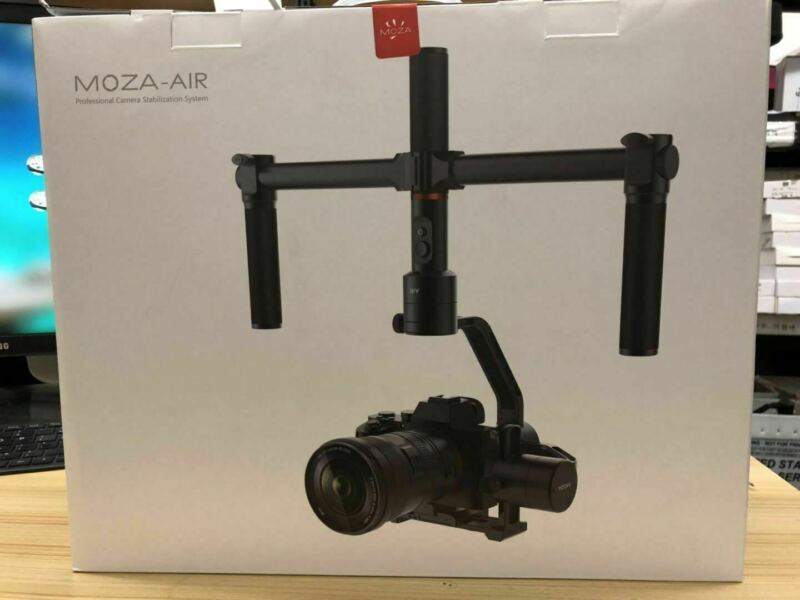 Moza Air3-Axis Handheld Gimbal Stabilizer forMirrorless and DSLR CamerasOpenBOX