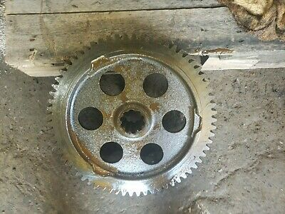 Massey Harris 44 Rowcrop Tractor Original Mh Drive Bull Bowl Gear 44 Diesel Part