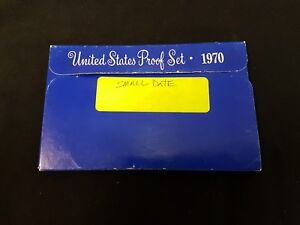 1970-s Small Date. U.S.Proof set. Genuine. complete and original as issued by US