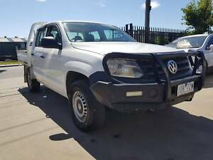 2012 Volkswagen Amarok Duel Cab Tray Ute 4X4 TURBO DIESEL Williamstown North Hobsons Bay Area Preview