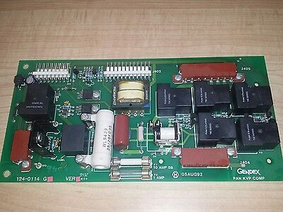 Gendex Oem Pc Circuit Board Pcb 124-0114g1 For Gxp Dental X-ray Film Processor
