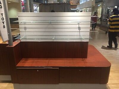 Used Mall Cart Lighted Cartlette Kiosk For Sale