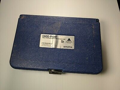 Hard Case Only For Cadd Prizm Genuine Model 6100 Series Infusion Pump Smiths