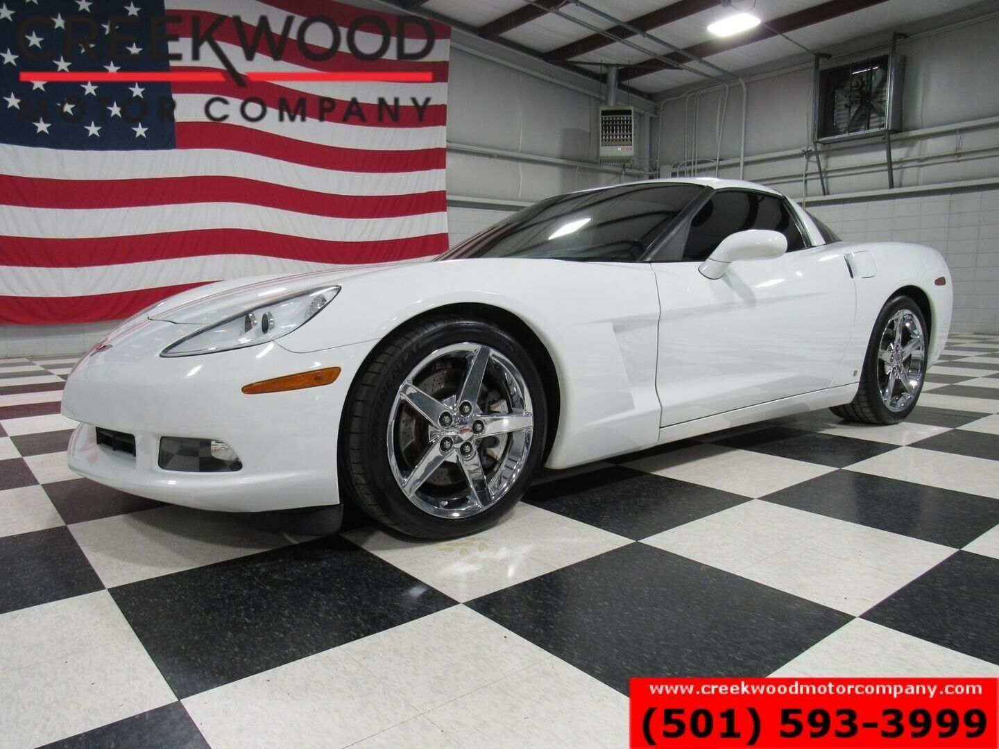 2007 White Chevrolet Corvette Coupe  | C6 Corvette Photo 1