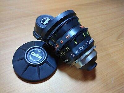 Excellent Condition Optex Super Cine 5.5mm F/1.8 Lens ! (Super 16mm lens)