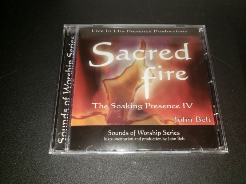 NEW - Sacred Fire; The Soaking Presence IV by John Belt