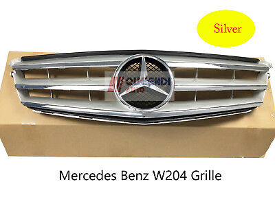 Mercedes Benz C-Class W204/C180/C200/C260 Front Grille Mesh Vent 08-14 Silver for sale  China