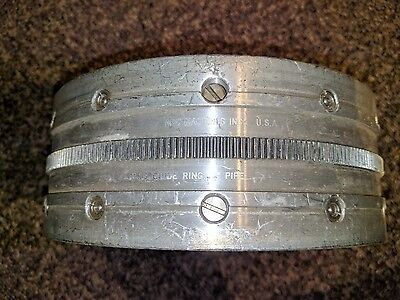 Arc Machines Orbital Welding 8 Guide Ring Clamp For Ami M-15 Weldhead