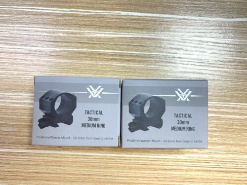 Vortex Optics Precision Matched Riflescope Rings 30mm - 0.97-inch(2 Rings)