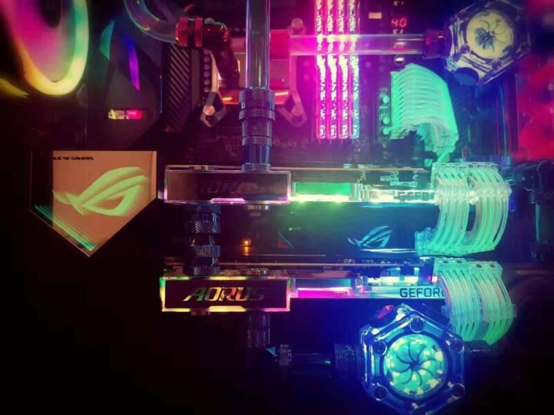Ultimate watercooling PC (9900k 2080TI SLI 32GB 4266 2TB SSD