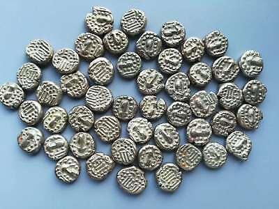 Ancient Silk Road,Gujarat Chara Kin Dynasty Silver Coin (A.D 11 Century)