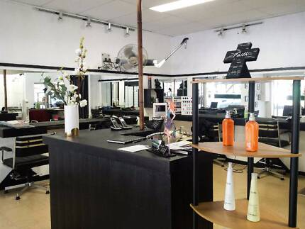 HAIR & BEAUTY SALON IN RINGWOOD FOR SALE OR RENT
