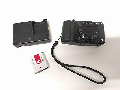 SONY Cyber-shot DSC-H90 16.1MP Digital Camera BLK - Bundle