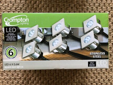 holman led 12v deck lights outdoor lighting gumtree australia