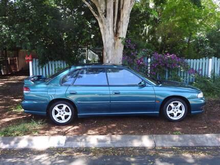 Subaru Liberty RX 2.5 1998 AWD (Manual + sports suspension)