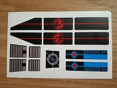 Thundercats - Thunderclaw replacement stickers